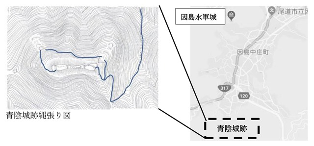 ウォーキング青陰図
